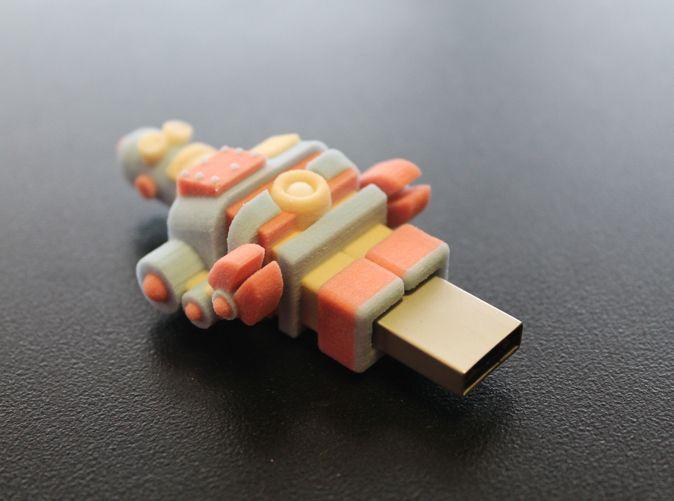USB 3d printed robot