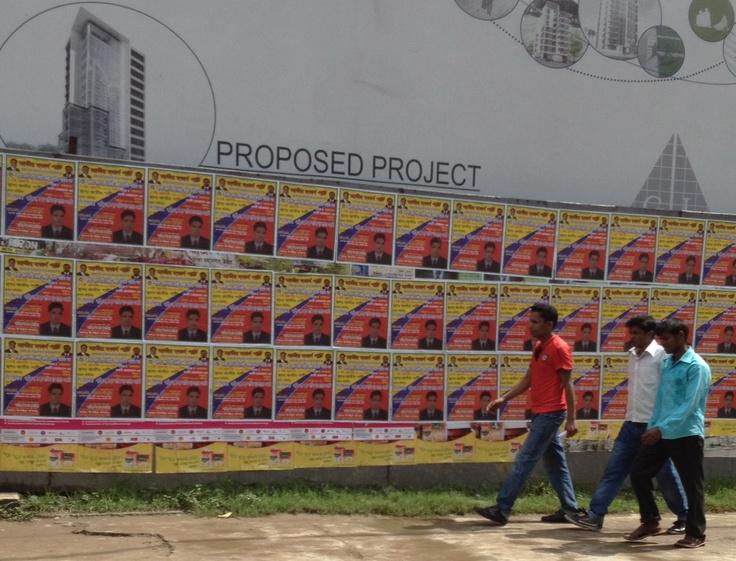 Dhaka101: projection