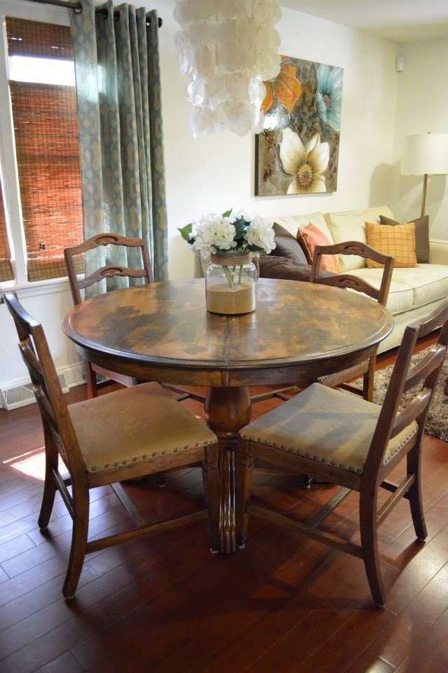 Upholstered chairs for dining room
