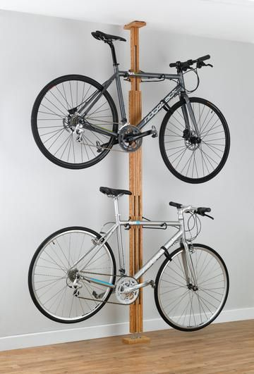 Bike storage racks, bike lifts, family bicycle racks, canoe & kayak hoists, golf bag storage, and more sports storage solutions! - MyGearUp.com - 20095 - Oak FTC