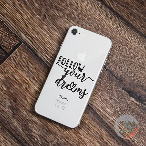 Check out this item in my Etsy shop https://www.etsy.com/listing/546156554/follow-your-dreams-iphone-sticker-iphone