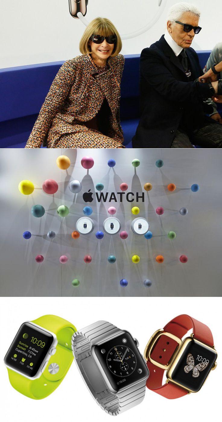 Karl Lagerfeld, Anna Wintour, Suzy Menkes e outros figurões da moda provaram o Apple Watch. Será que o gadget vai acertar em cheio o mercado de luxo?  A novidade da Apple ganhou exibição especial durante 24 horas na famosa loja colette Paris, durante a Paris Fashion Week  https://www.facebook.com/fashionroom.saopaulo/posts/475400609269888  http://www.colette.fr/content/apple-watch-chez-colette/  #applewatch #colette #colettewindow #fashion #moda #luxo #FashionroomSP
