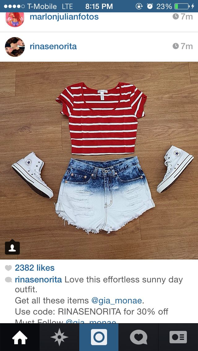 A cute 4th of July outfit
