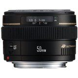 Canon EF 50mm f/1.4 USM Standard & Medium Telephoto Lens for Canon SLR Cameras (Camera)By Canon