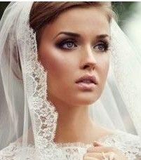 Maquillaje de novia cálido
