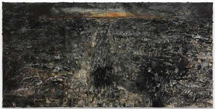 Anselm Kiefer, 'Nigredo-Morgenthau', 2012