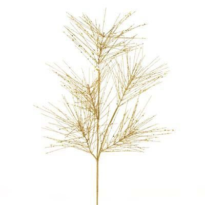 "F2956611RAZ GLITTERED PINE SPRAY CHRISMAS DECORATION  Gold Made of Plastic Measures 28"" All that Glitters collection by RAZ Imports: Gold Glitter, Chrisma Decor, Pine Sprays, Christmas Decor, Christmas Trees, Christmas Ideas,  Quilling Pens, Glitter Pine, Decor Gold"