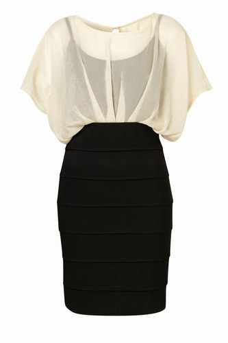 Monochrome dress - What to wear to a wedding: Wedding guest dresses