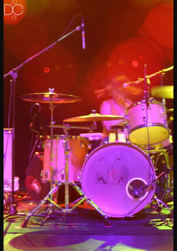 Janet Weiss, Sleater-Kinney Live 2005 Henry Fonda Theater Hollywood, CA. Photo by Dyanne Cano