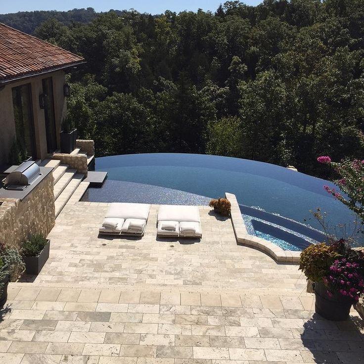 Best 25+ Infinity pool backyard ideas on Pinterest   Infinity ...