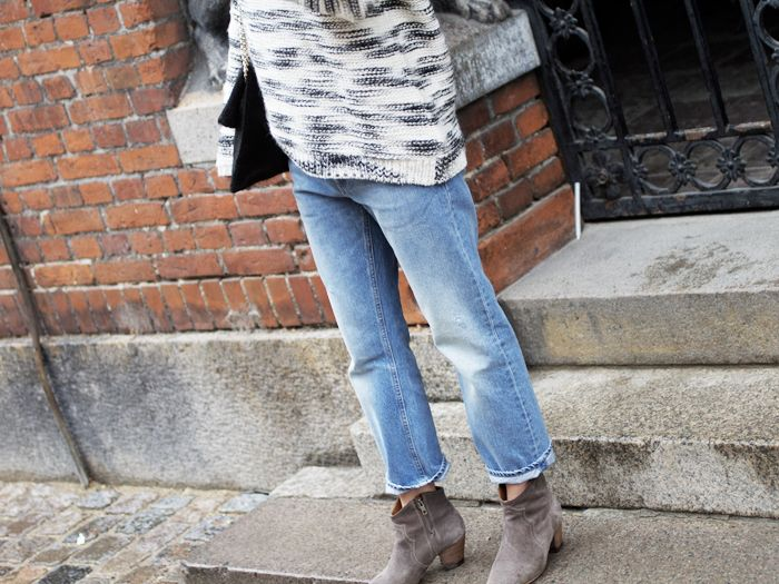 17 Best images about Boyfriend jeans on Pinterest | Boyfriend jeans heels Ankle boots and ...
