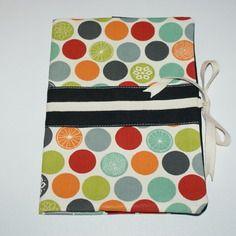 Protège carnet de santé fille ou garçon en tissu lin et coton bio