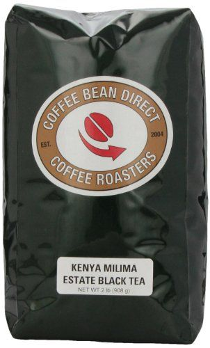 Coffee Bean Direct Kenya Milima Estate Loose Leaf Tea, 2 Pound Bag ** Read more reviews of the product by visiting the link on the image.