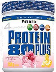 Weider 80 Plus Protein Himbeer-Sahne 1er Pack 1x 7…