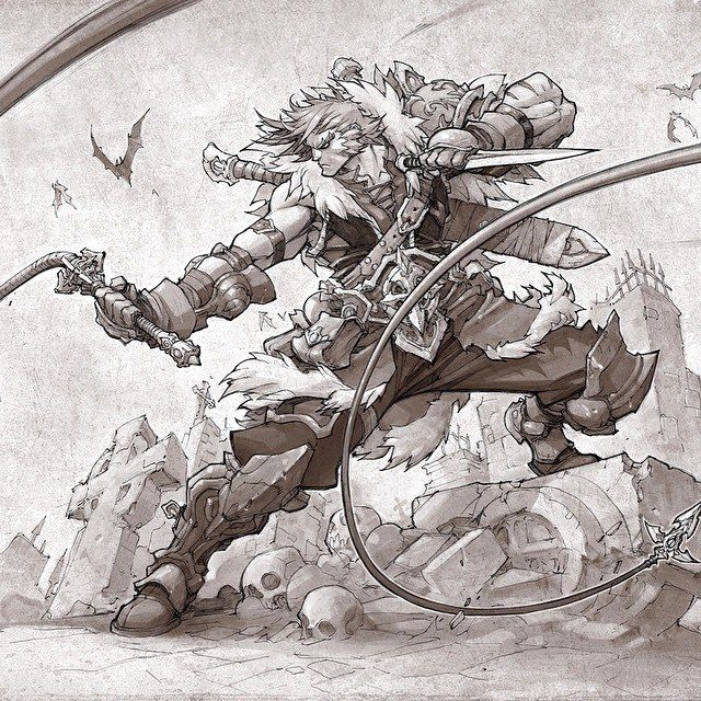 Joe Madureira ( Castlevania )