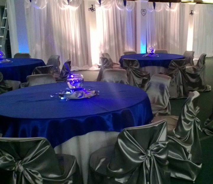 Midnight Blue Wedding Decorations: Royal Blue And Silver Wedding