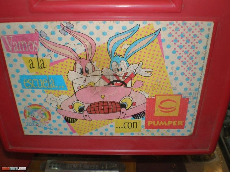 Tiny Toon Adventures Pumper Nic, te acordás? | Fotos Retro
