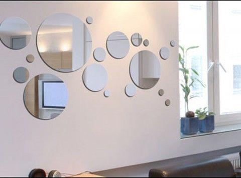 M s de 1000 ideas sobre decoraci n de pared de hierro en for Espejos circulares decorativos