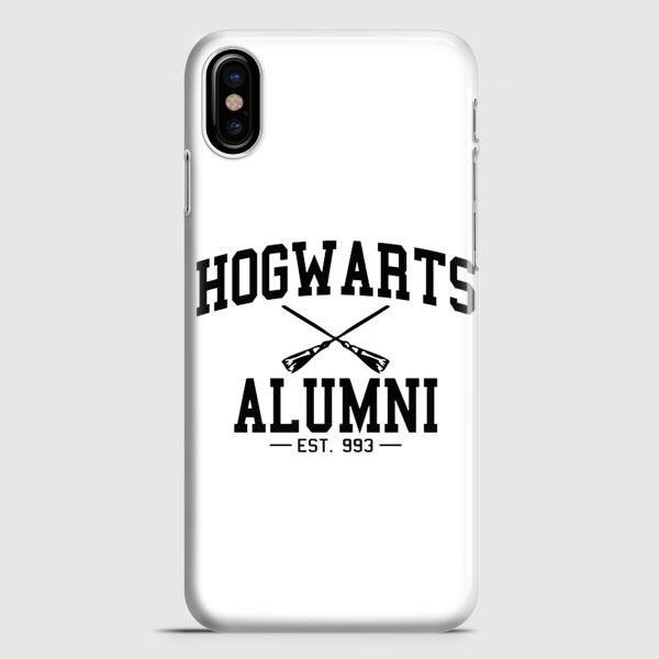 Hogwarts Alumni White iPhone X Case