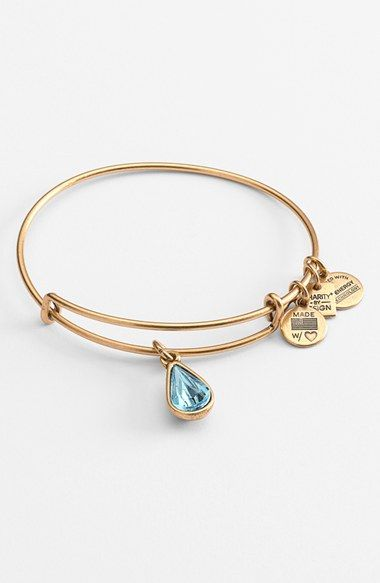 Alex and Ani 'Living Water' Expandable Charm Bangle available at #Nordstrom