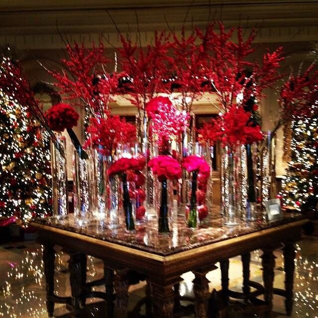 Christmas Decorations In Hotel Lobby : Best images about lobby looks loves on