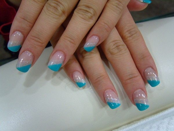 9 best Beauty - Nail Designs images on Pinterest   White tip nails ...