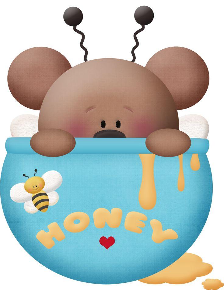 HOMEY TEDDY BEAR CLUIP ART