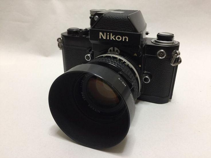【EXC+++】Nikon F2 Photomic Black 35mm SLR Film Camera W/ NIKKOR Ai 50mm F/1.4 #49 #Nikon