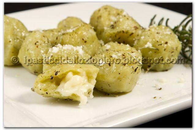 I Pasticci dello Ziopiero: Gnocchi Patate e Broccoli ripieni di Taleggio
