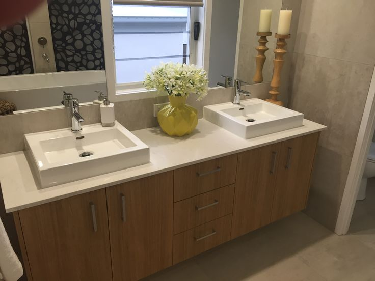 Twin vanity are now standard in most new homes....