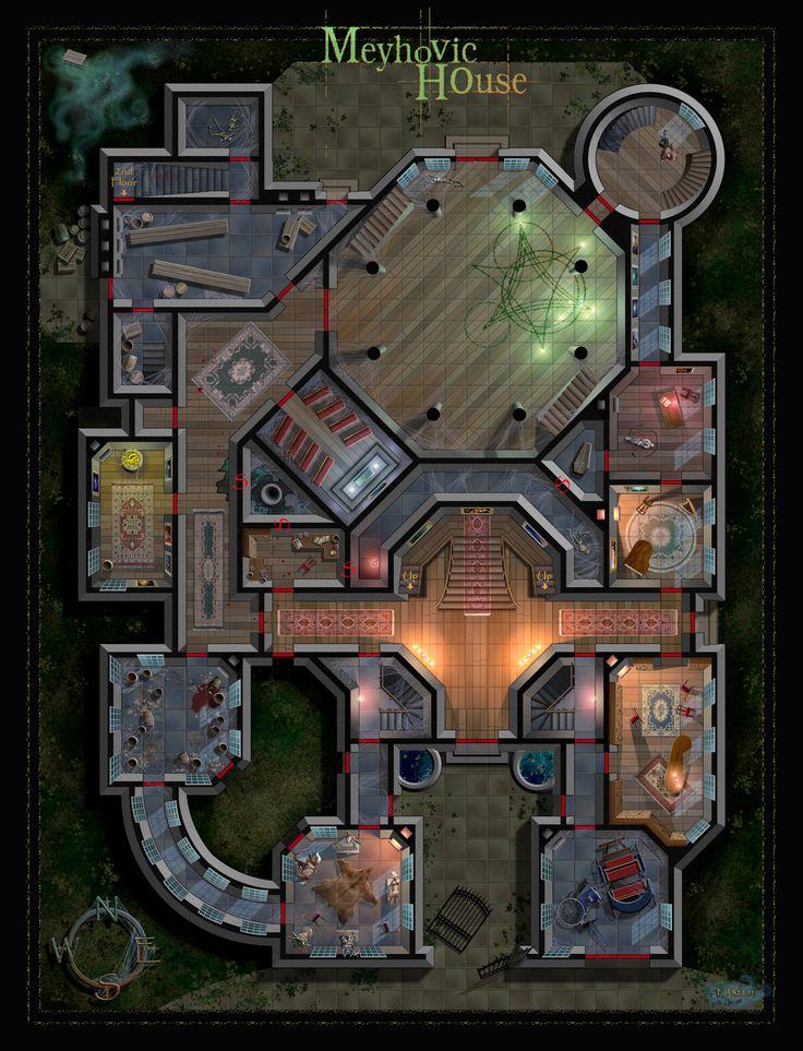 De 2108 b sta maps bilderna p pinterest for 13 floor haunted house pennsylvania