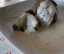 Artichauts vapeur et sa sauce légère (thermomix)