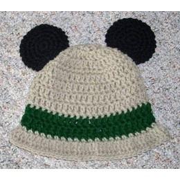 Safari Mickey Mouse Ears Beanie Hat