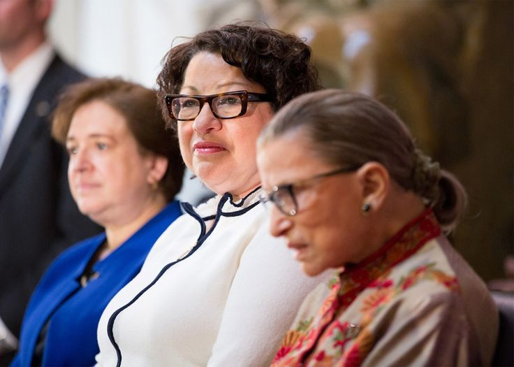 The Women Take Over-- In oral arguments for the Texas abortion case, the three female justices upend the Supreme Court's balance of power. Elena Kagen, Sonia Sotomeyor, and Ruth Bader Ginsburg.