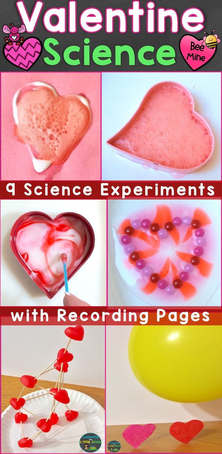 Valentine Science Experiments, STEM Activities U0026 Pages (Print U0026 Digital  Options)