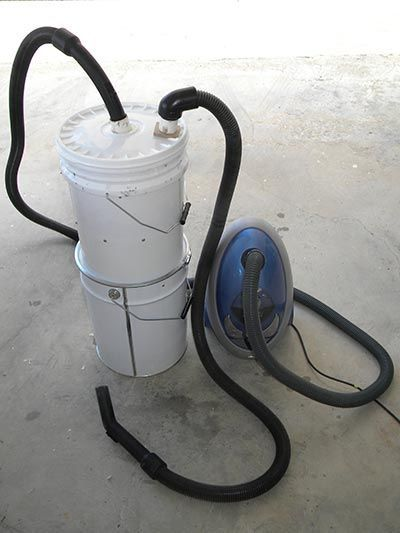 Mini Cyclone Bucket Dust Collector