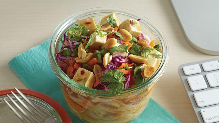 Homemade Vegetarian Noodles To-Go