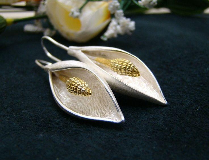 Sterling+zilveren+oorbellen++van+Uli-Lu+op+DaWanda.com