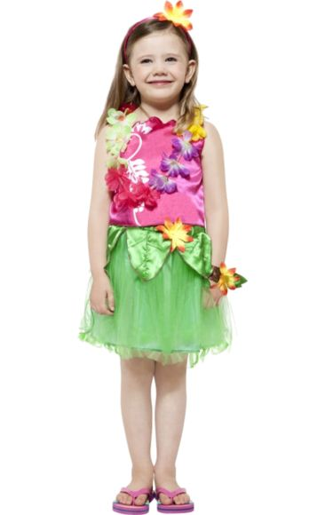 Child Hula Girl Costume | Jokers Masquerade