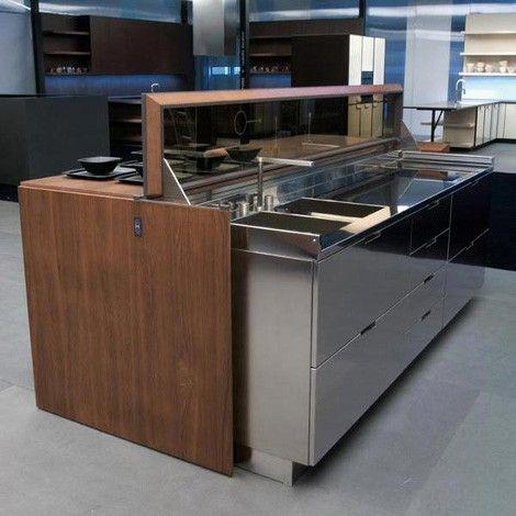 Same Kitchen Kitchen Automation   Remote Controlled Kitchen Island Design