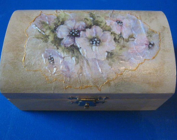 Jewelry box- handmade Copyright@ Laura Ciocoiu