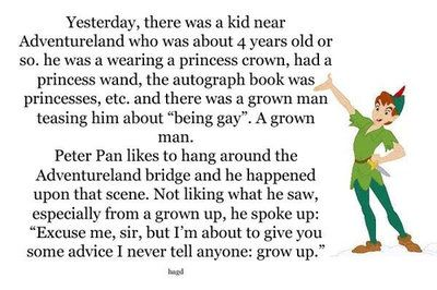 Love Peter Pan more than ever now!