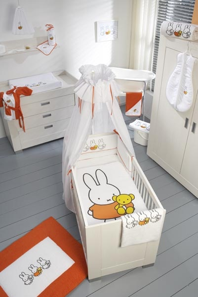 For a baby! Miffy the bunny!