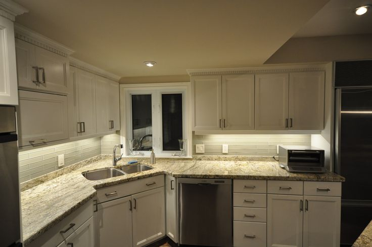 led strip lights install for under cabinet kitchen lighting under