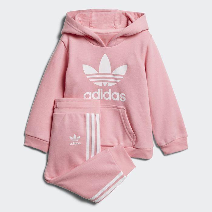 cfbdd054 Trefoil Hoodie Set in 2019 | Products | Pink adidas, Adidas trefoil ...