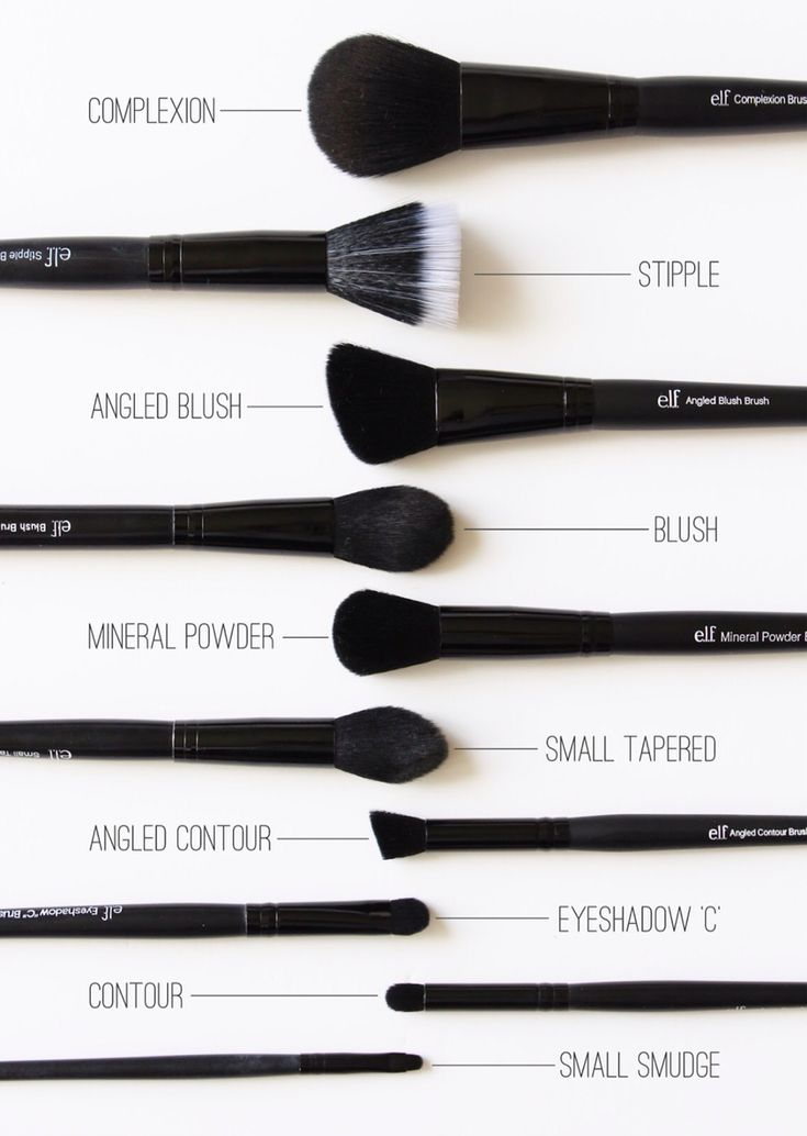 elf studio brushes. Decided to try some new brushes and compared to my high end brushes, these are pretty great!! Highly recommend!!