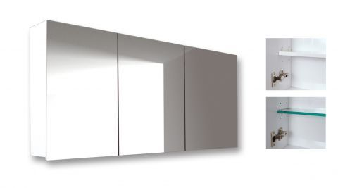 Seima : Kahlo Mirror Cabinet SSU-1200 - 1200 mirror cabinet, 1200x600x165
