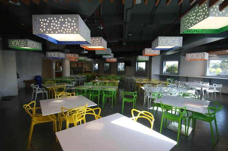 Lounge & Cafetaria - Project YASH Technologies Location Indore. Designed By - Concept Architects, Mumbai.