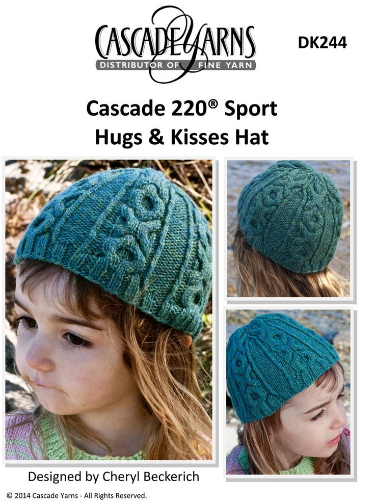 452 best Knitted Hats images on Pinterest   Knit stitches, Loom ...