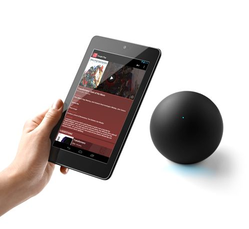 Nexus Q - Android controlled media player - hmmmHands Tablet, Android Control, Roots Google, Media Players, Youtube App, Apple Tv, Android Phones, Google Nexus, Android Devices